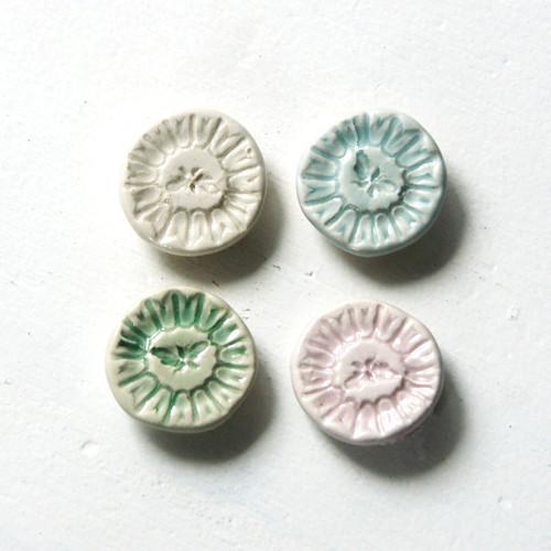 Zahradní - porcelánové magnetky (menší)