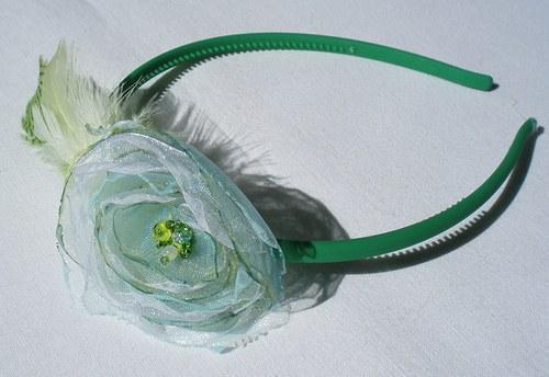 Zelená čelenka