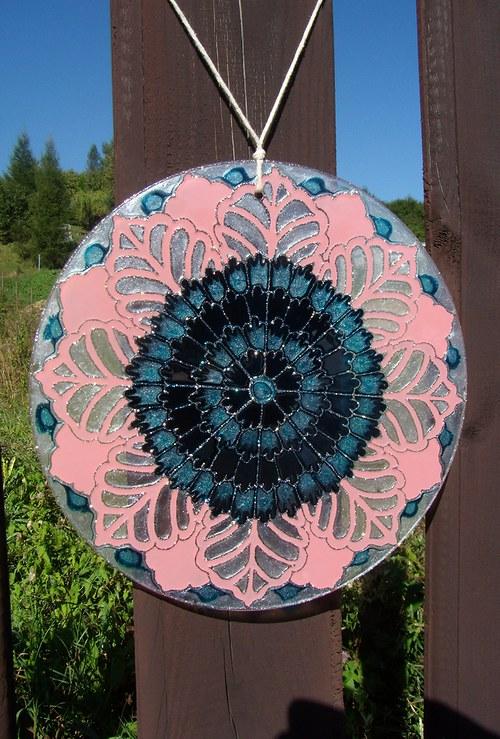 Mandala Kvety v Kvete