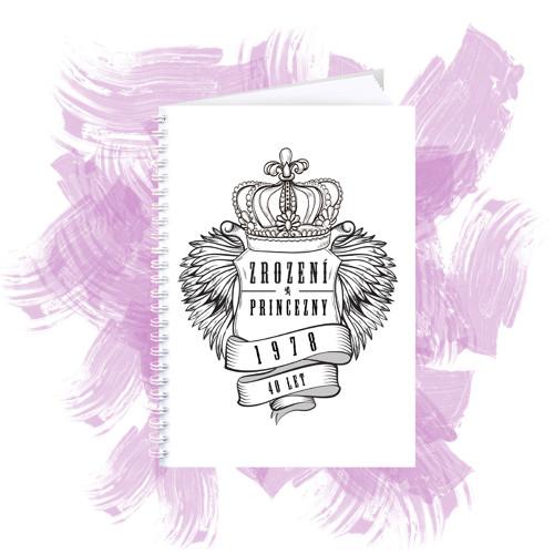 Zápisník s motivem - zrození princezny 3