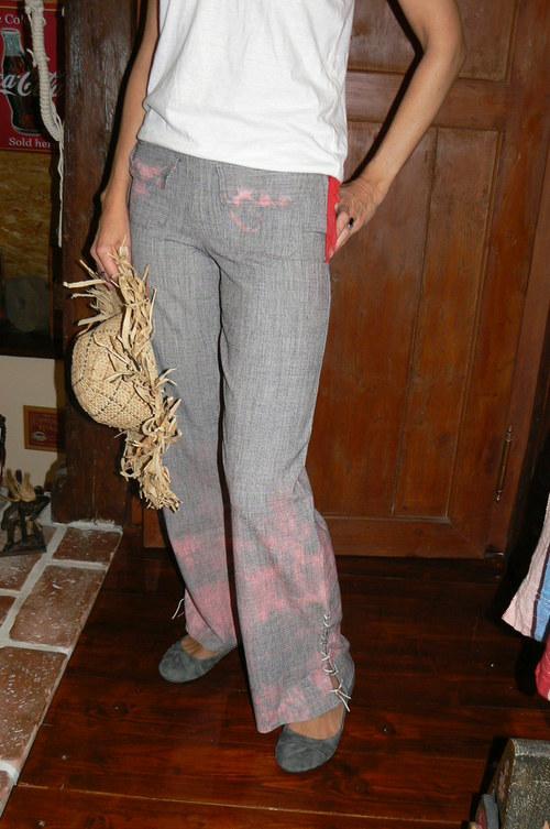 Červánkové kalhoty-sleva ze 480 kč