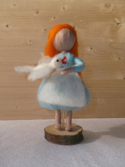 Popelka s holoubkem