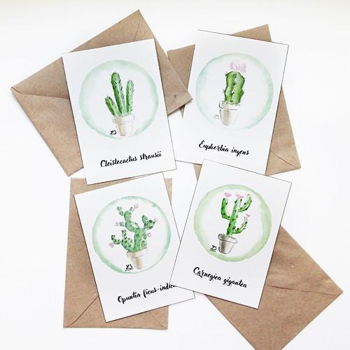 Crazy plant lady pohlednice