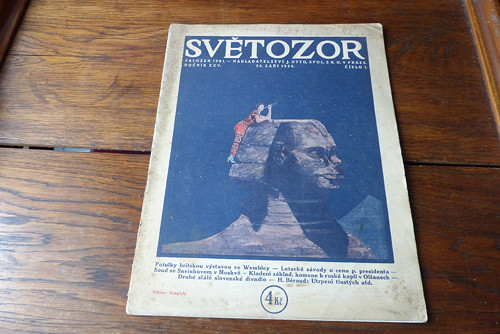 Časopis Světozor 1/1924