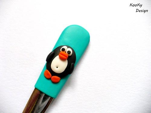 Čajová lžička - tučňáček