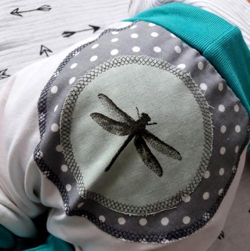 turky (0-6 měs.) - vážky - bílé #1