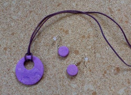 náhrdelník s náušnicemi