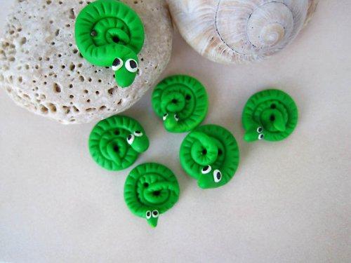 Knoflíky - hadi
