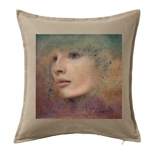 Dekorační polštář ,,Portrét 3,,