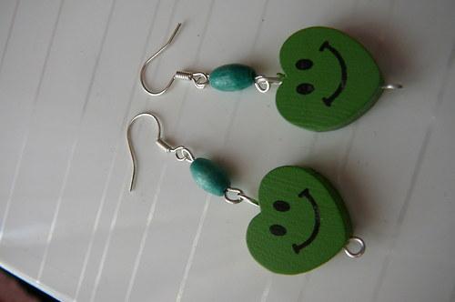 Veselá srdíčka-zelené