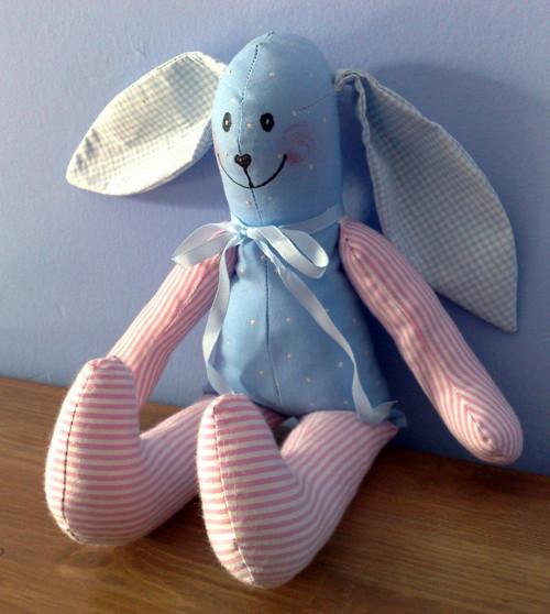 """králík \""""na modro\"""""""
