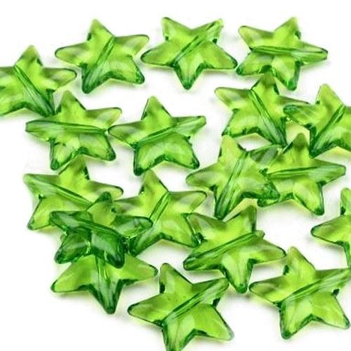 Hvězdička zelená- 8 ks