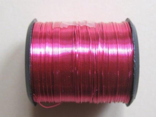 drátek 0,3 mm barva růžová