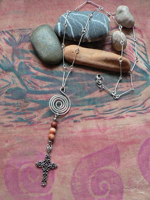 Spirála - náhrdelník