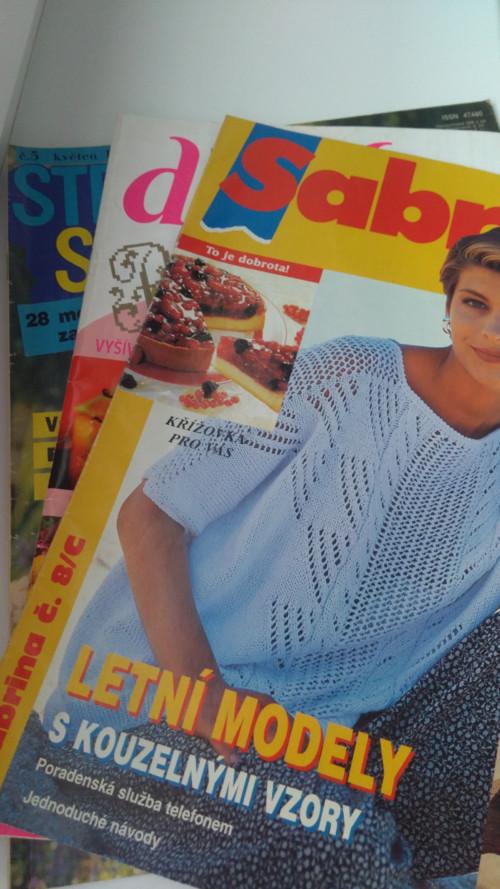 Sada tří časopisů