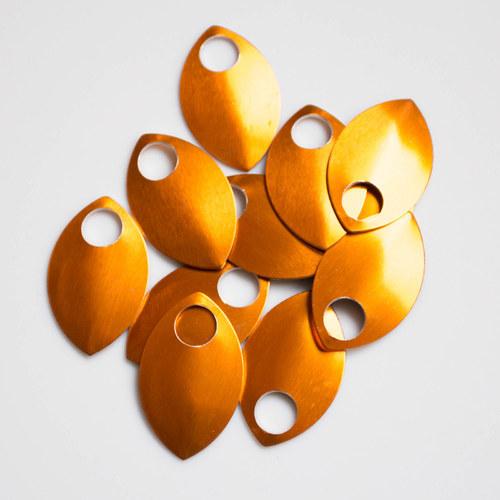 Šupiny velké oranžové