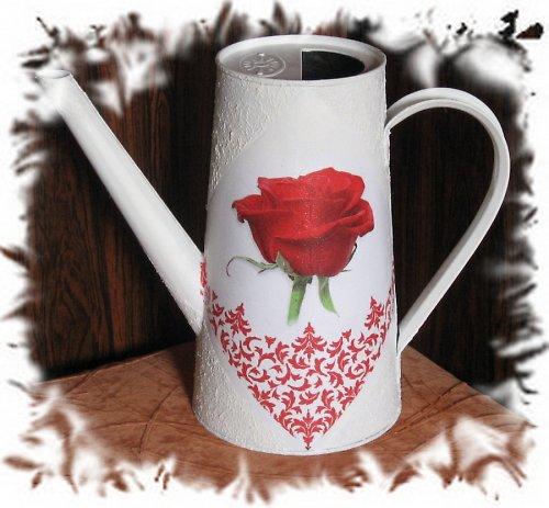 č.50 - bílá s růží