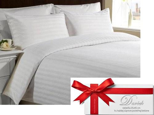 Klasická damašková posteľná bielizeň