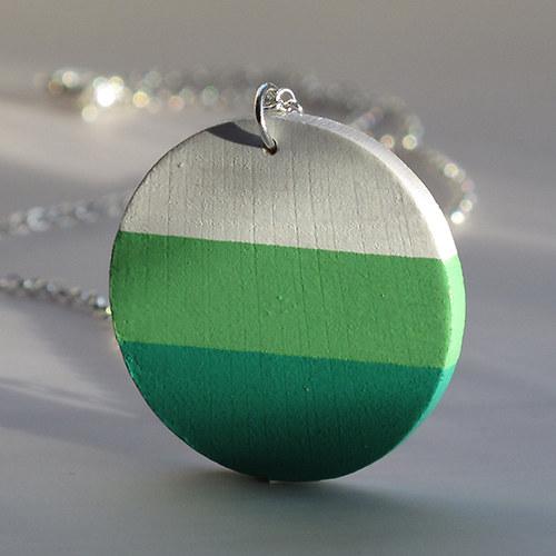 Přívěsek zelený