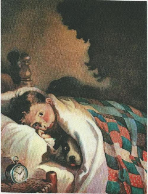 bavlněná látka - panel  8,5 x 12,5 cm