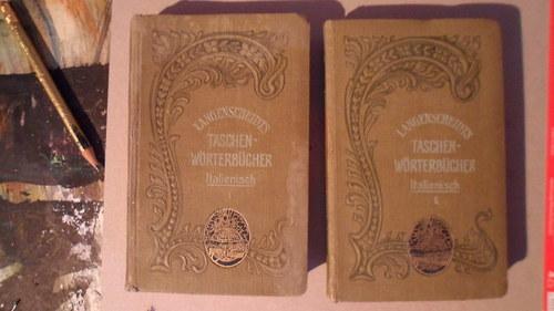 2 díly italsko německého slovníku