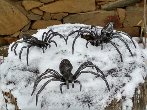 Pavouk - kovaný
