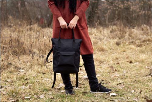 Batoh černo-černý