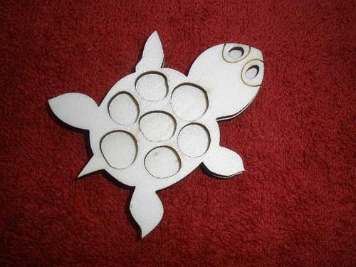 Razítko překližka želvička - v.5,5x7cm