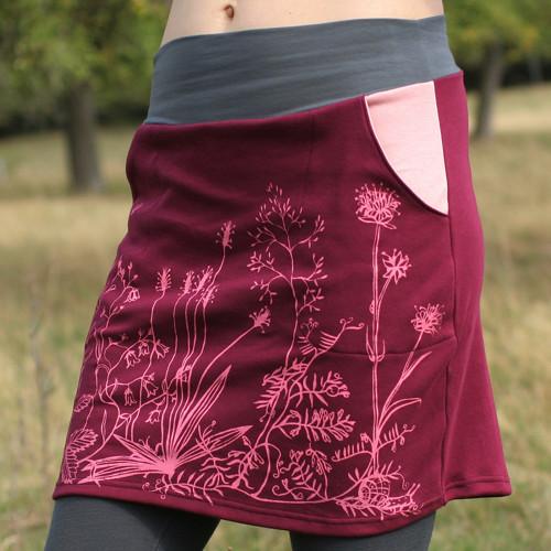 Dámská sukně Louka č. 2, barva na přání