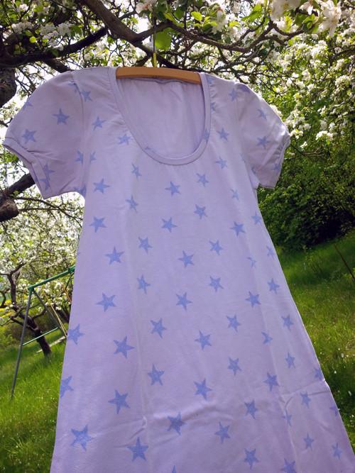 Noční košilka hvězdičková vel. M