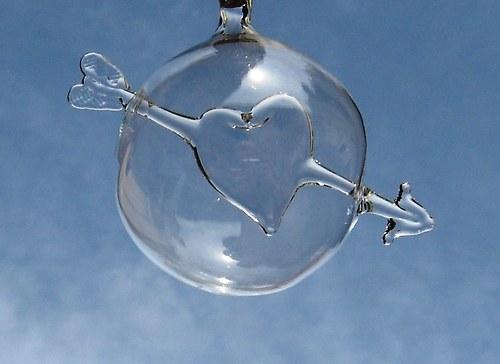 koule s motivem - srdce