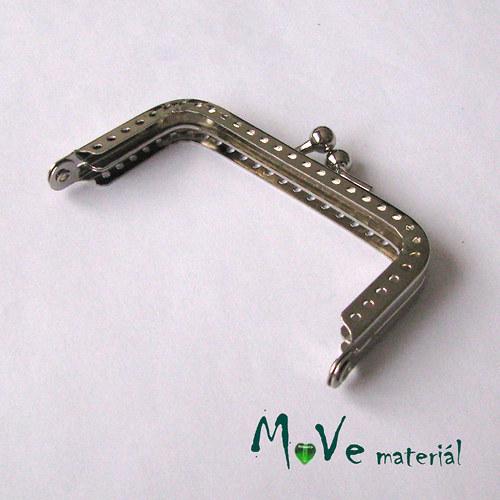 Kabelkový ( peněženkový) rámeček 4x7,5cm, stříbr.