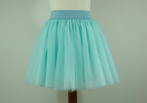MINT - tylová sukně - 5 vrstev
