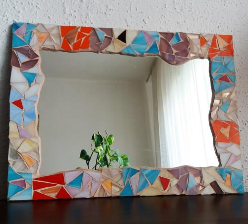 zrcadlo mozaika No.1