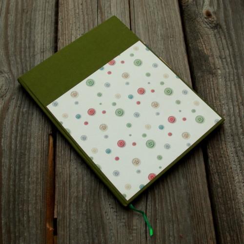 Deník no. 325 - knoflíkový