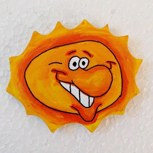 magnet  sluníčko