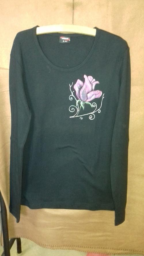 Tričko s růží