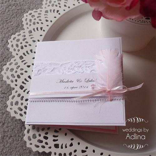 svatební oznámení_něžně krajkové