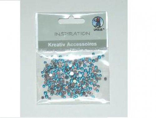 Kreat.kamínky-3+4mm-sv.modré10ks