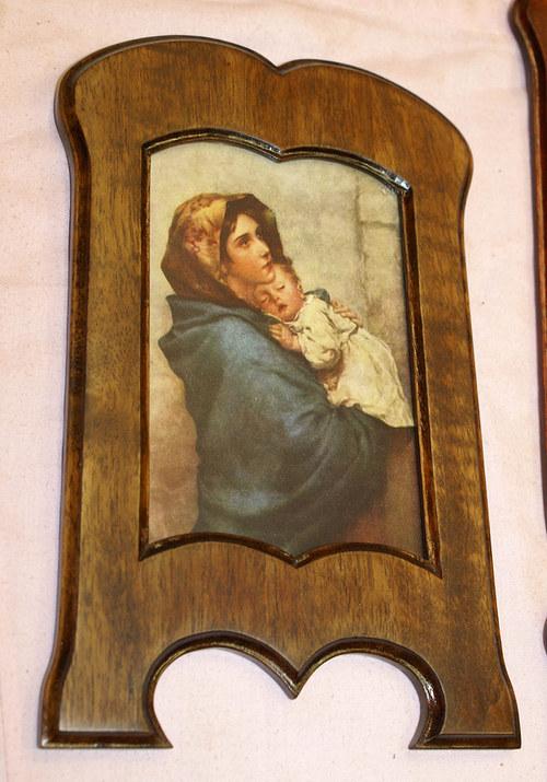 Obraz s dřevěným rámečkem