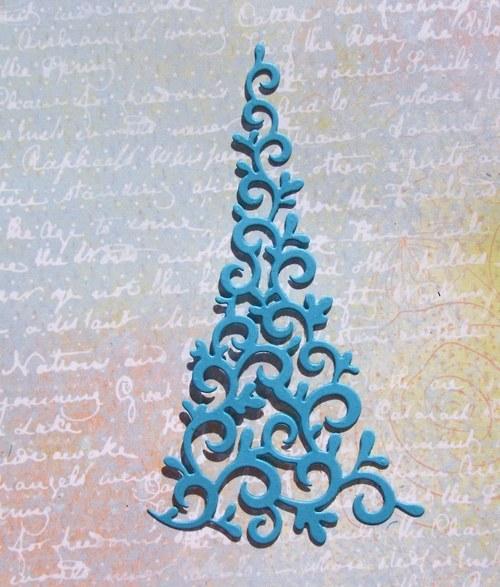 Vysoký stromeček spirálkový