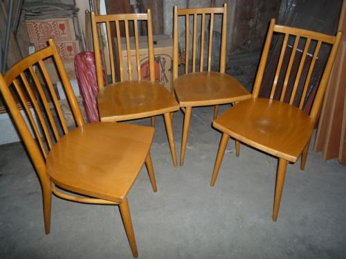 set 4 židle