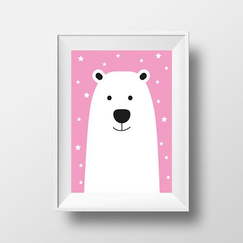Plakát medvídek