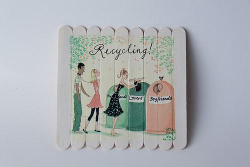 Recyklace přítele, manžela