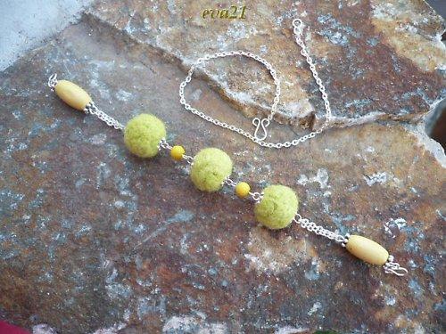 Kassia - náramek, náhrdelník, nákotník - 3v1