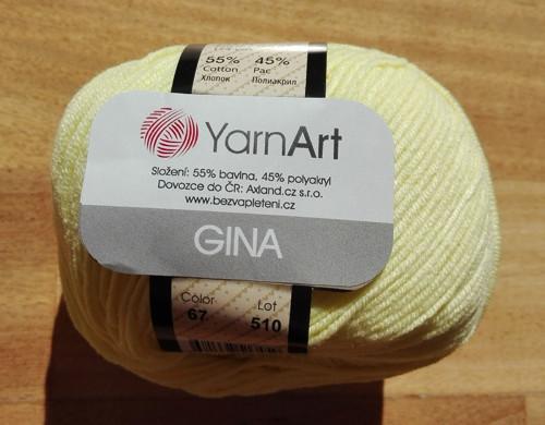 Gina odstín 67 vanilková