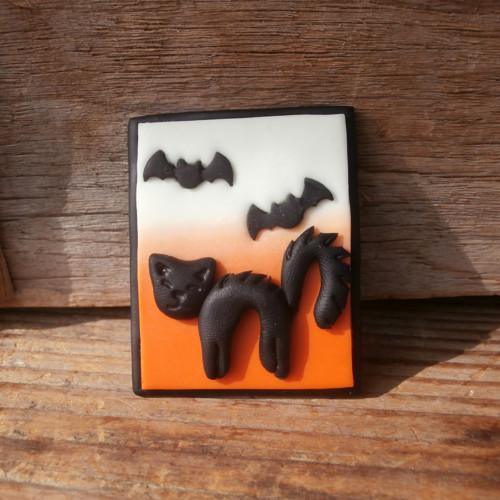 Kočka s netopýry - brož