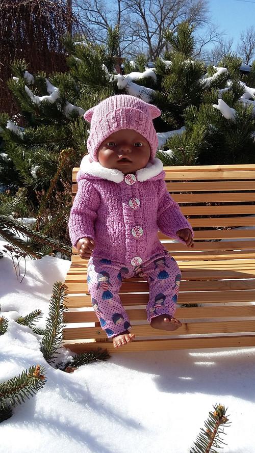 Obleček pro panenku Baby born