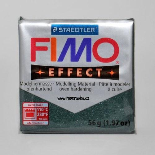 FIMO Effect / Metalická opálově zelená (58)