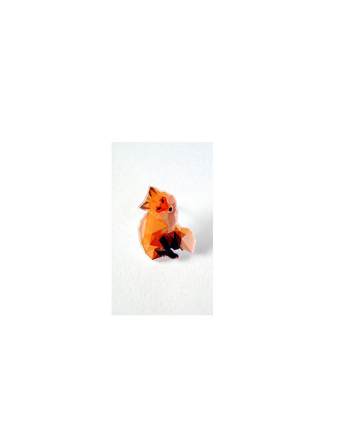Liščí slečinka - brož